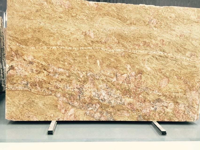 Lowest Price Imperial Gold Dust Granite Slabs and Tiles