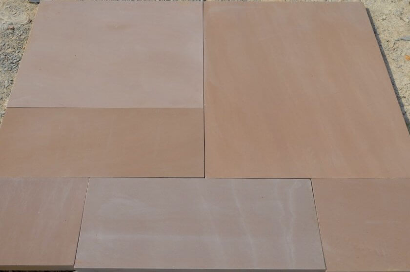India Autumn Brown Sandstone Tiles