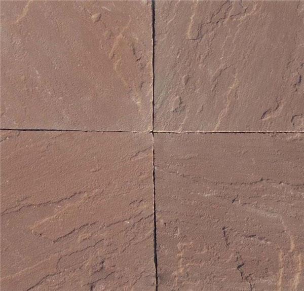 India Red Sandstone tiles