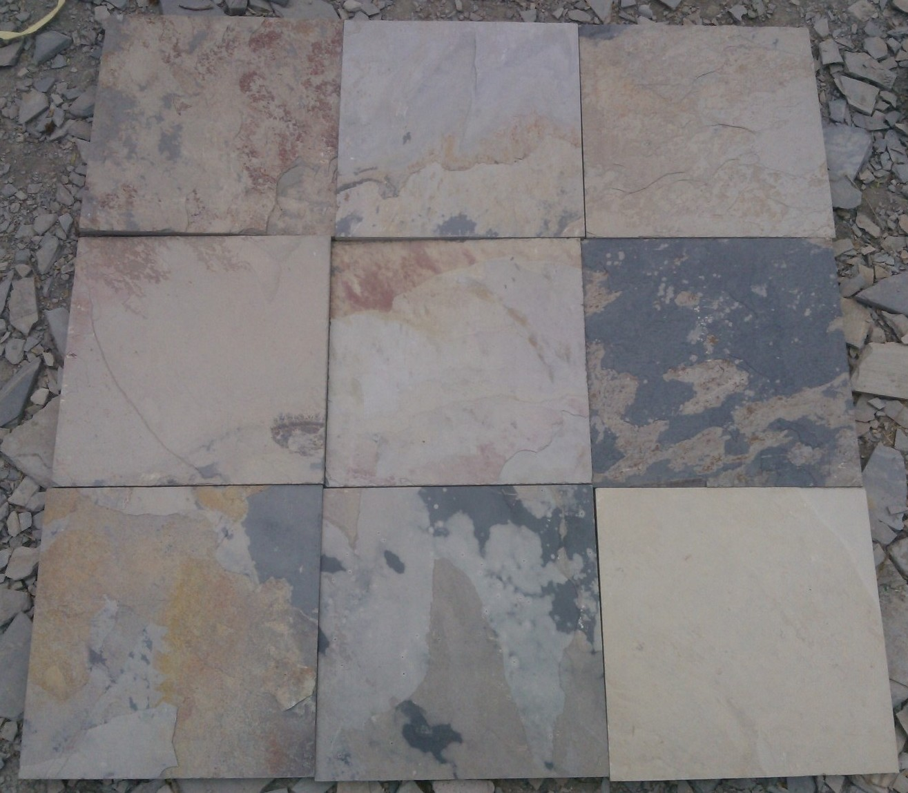 Indian Autumn Slate Tiles