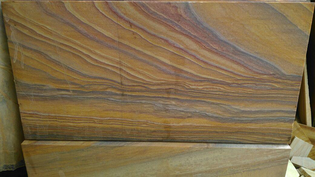 Indian rainbow sandstone