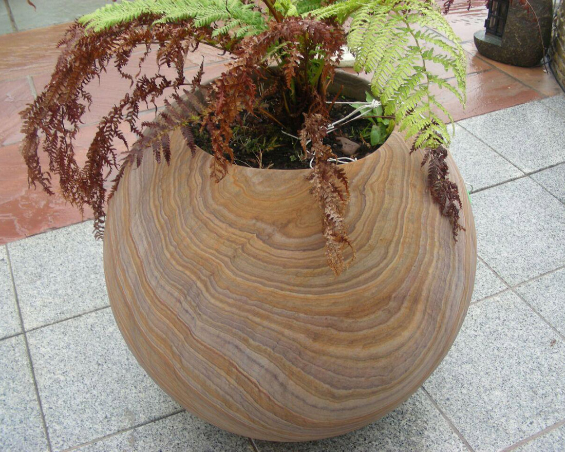 Indian Sandstone Flower Pot