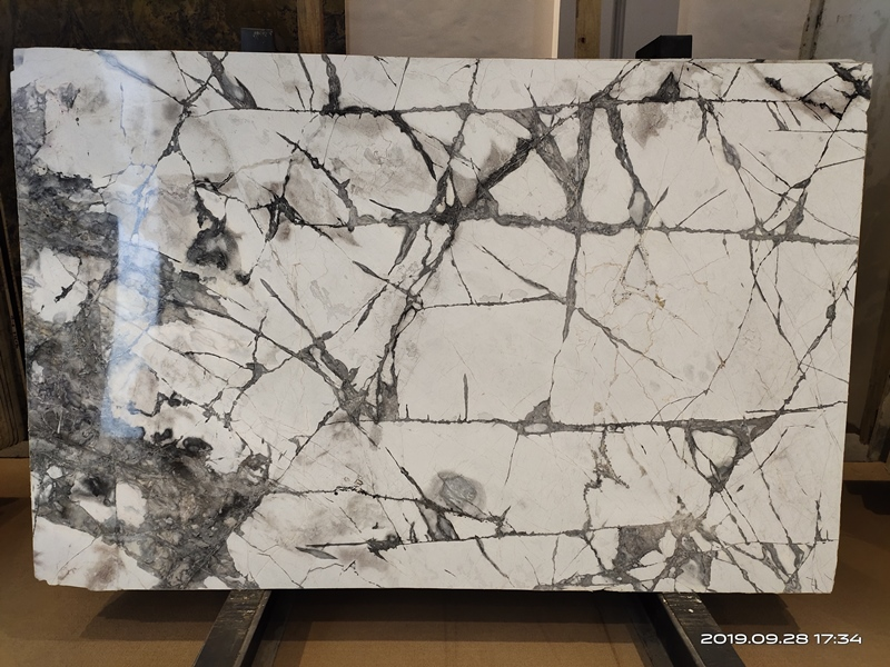 Invisible Grey Marble Invisible Grey Gold Quartzite Invisible Grey-Gold Marble Slabs