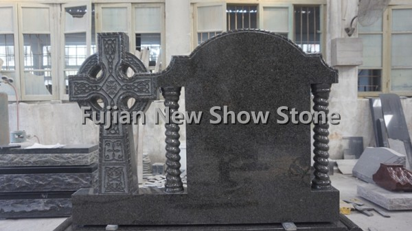 Granite Black Tombstone