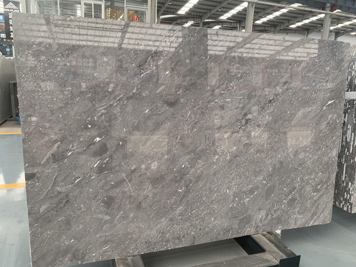 Italian Grey Polished Marble Slabs Wyndham