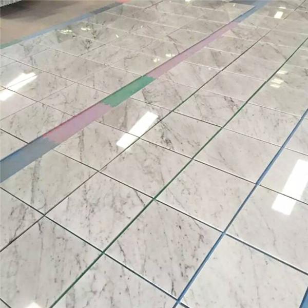 Italian Bianco Carrara White Marble Tile