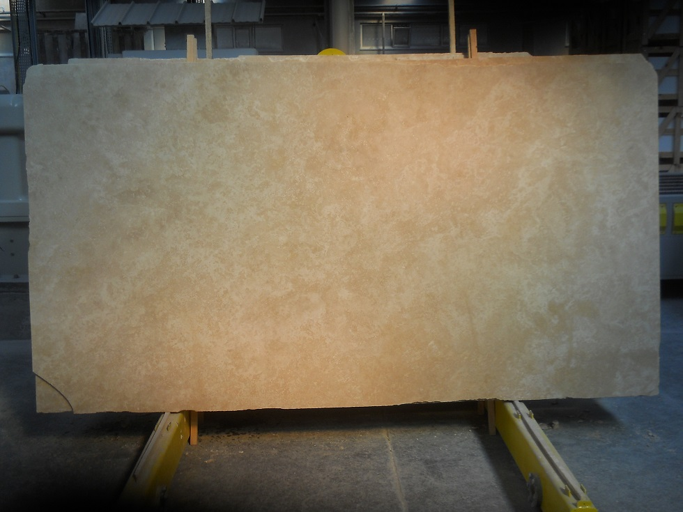 Ivory Light Cross Cut Travertine Export Quality Tiles and Slabs