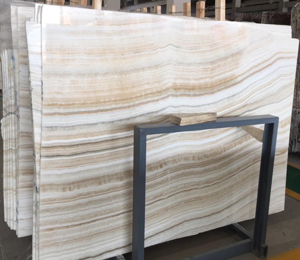 Ivory Onyx slab