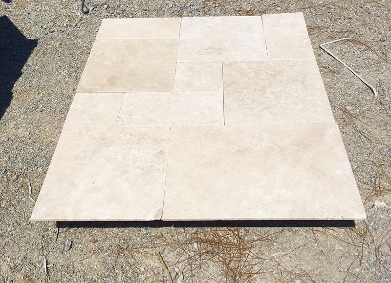 Denizli Ivory Travertine Tumbled