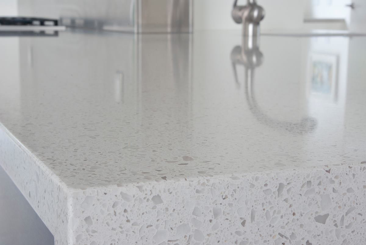 Ivory Quartz Countertops