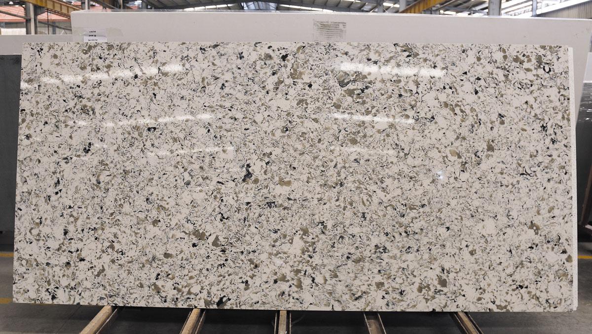 Chinese White Quartz Polished Slabs
