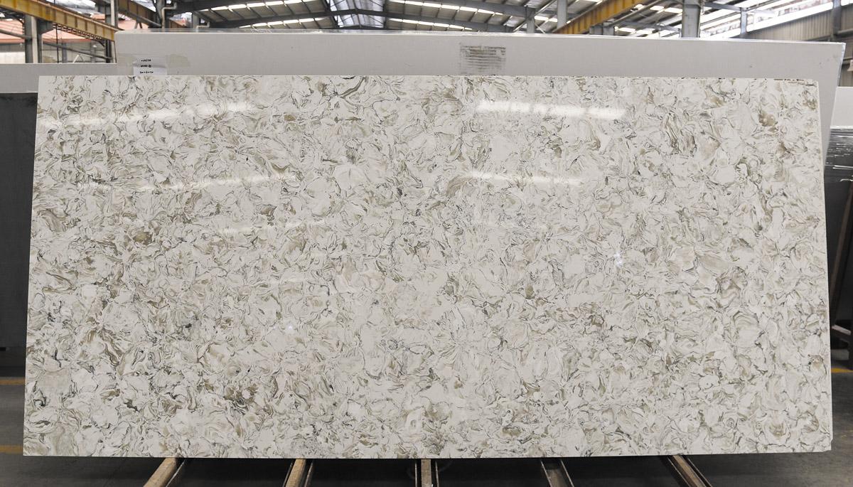 Artificial Stone White Quartz Slabs
