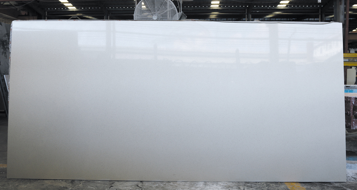 Pure White Quartz Stone Slabs