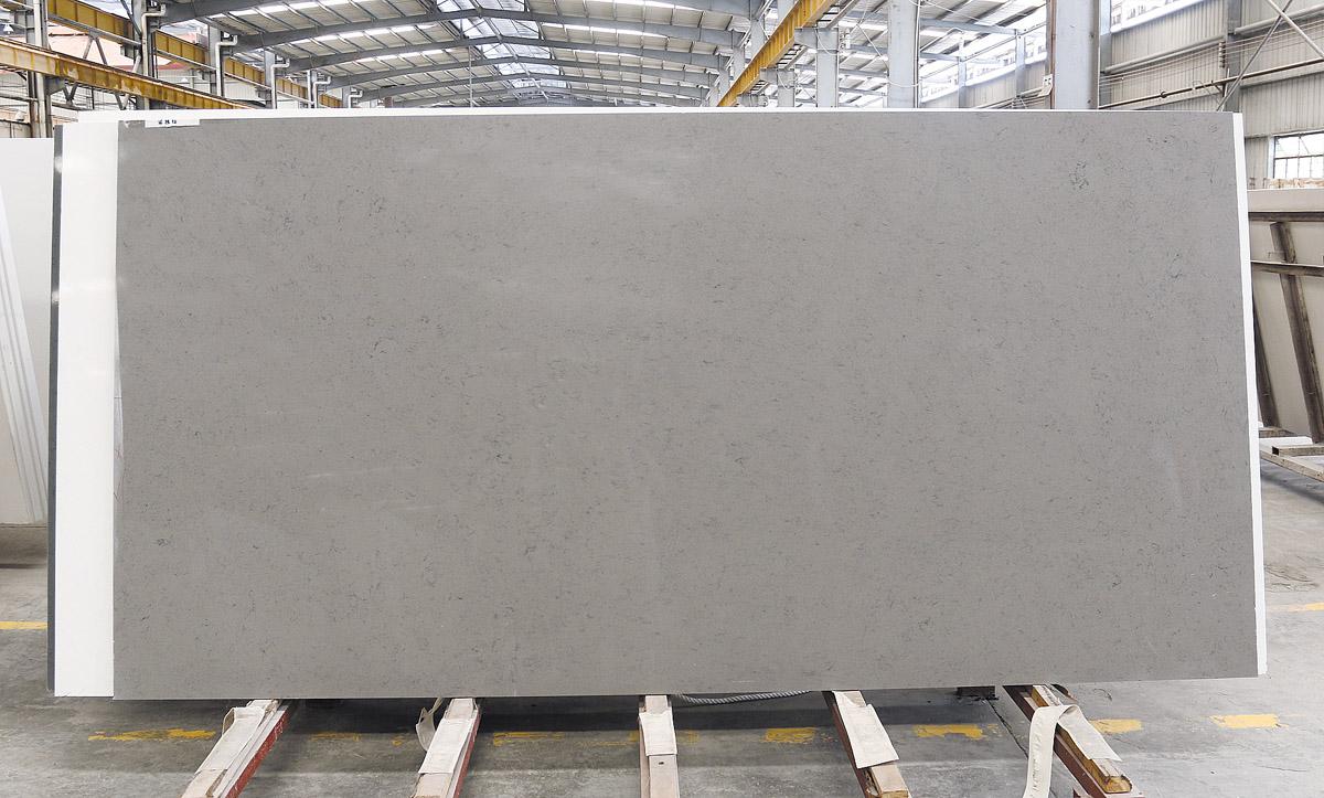 Grey Quartz Stone Slabs for Countertops