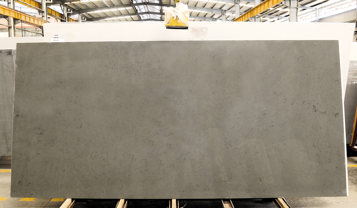 Chinese Competitive Grey Quartz Slabs