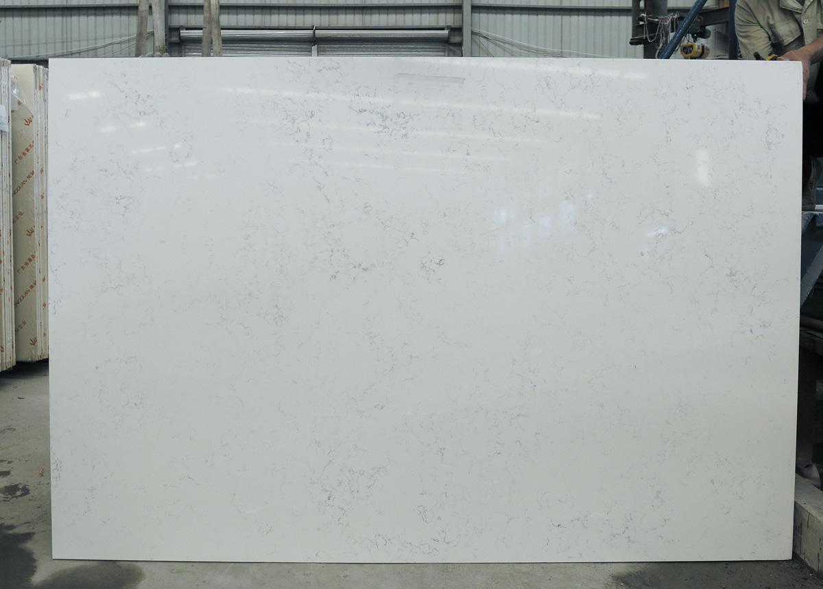 Polished White Quartz Artificial Stone Slabs