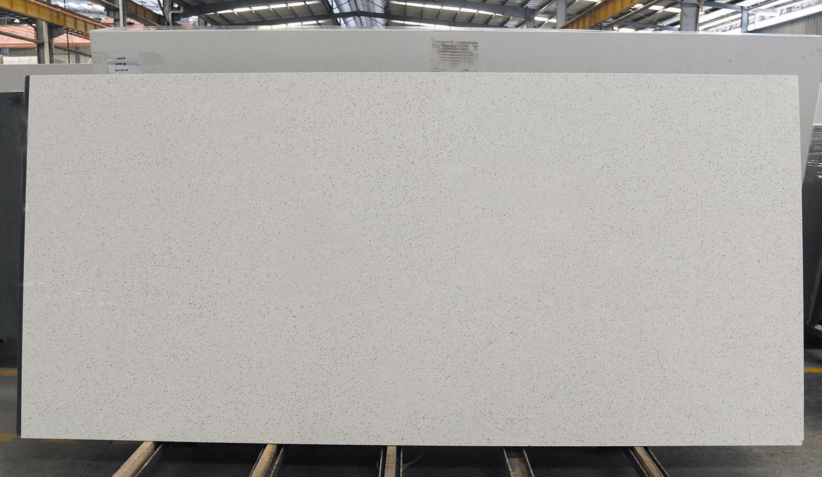 White Artificial Quartz Slabs for Kitchen Tops
