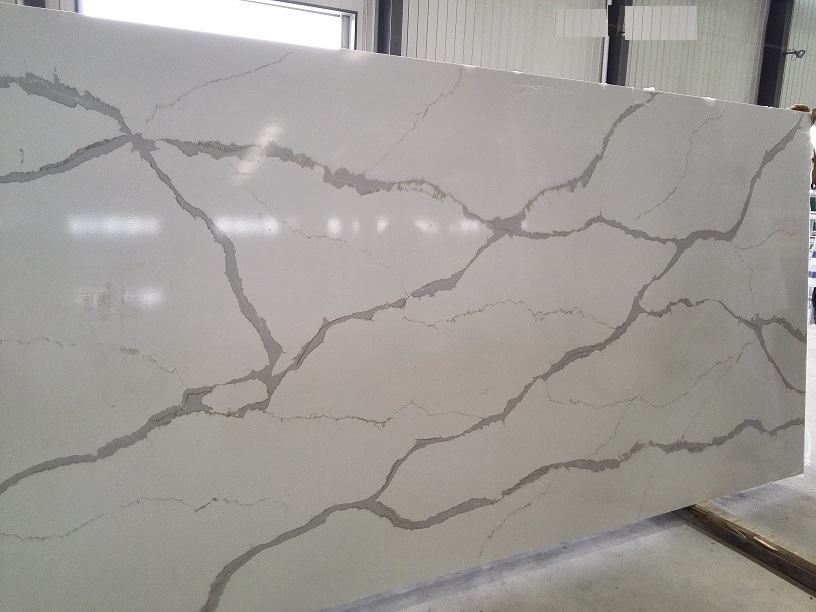 Calacutta gold quartz stone slabs