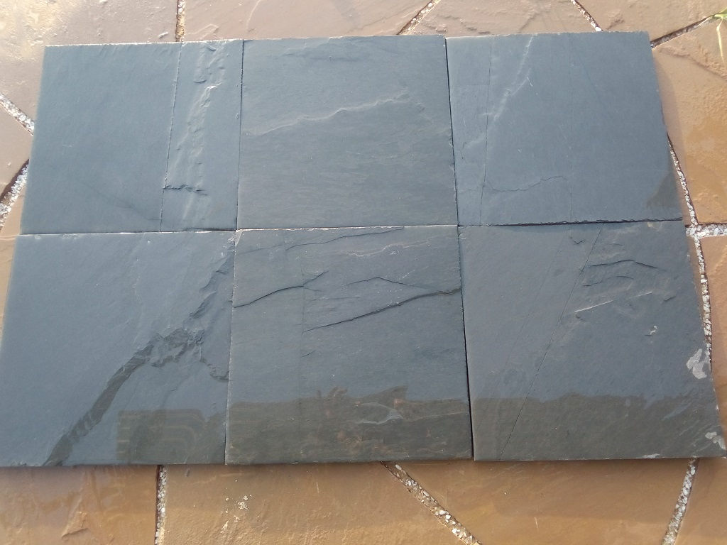 Jak Black Slate - Wet Tiles