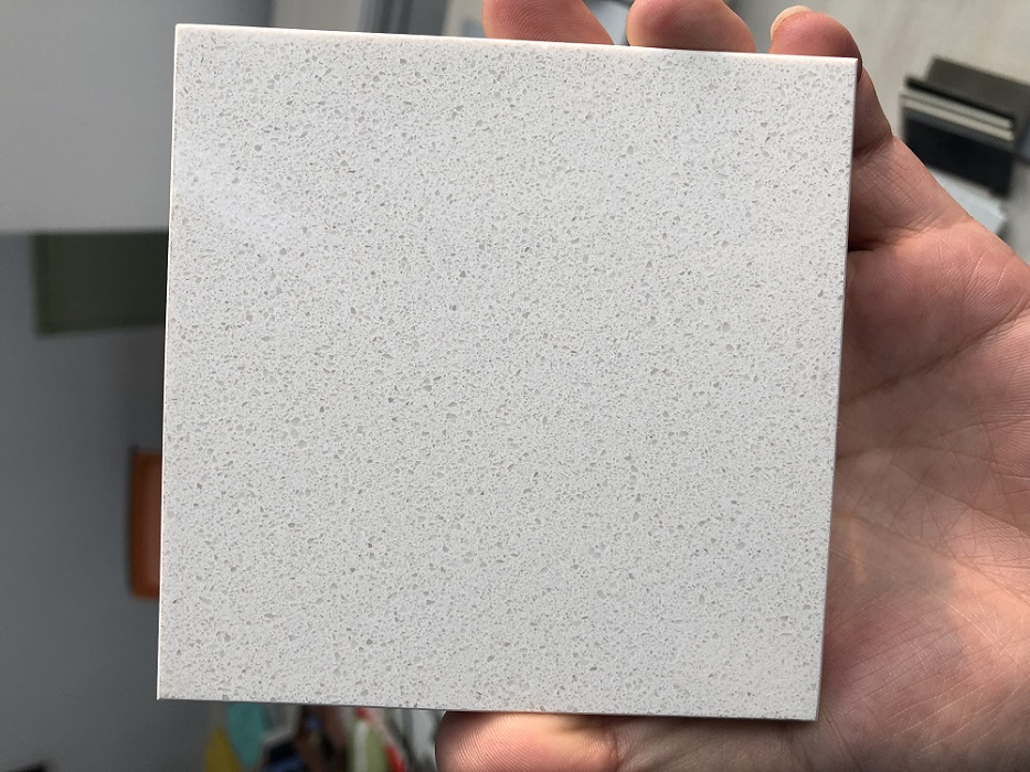 Jazz white quartz stone slab