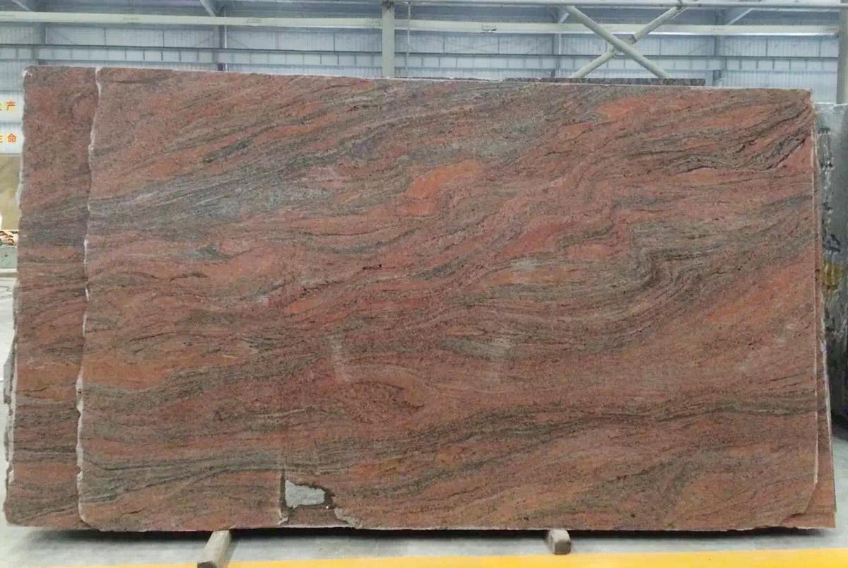 Juparana Pink Granite Polished Slabs