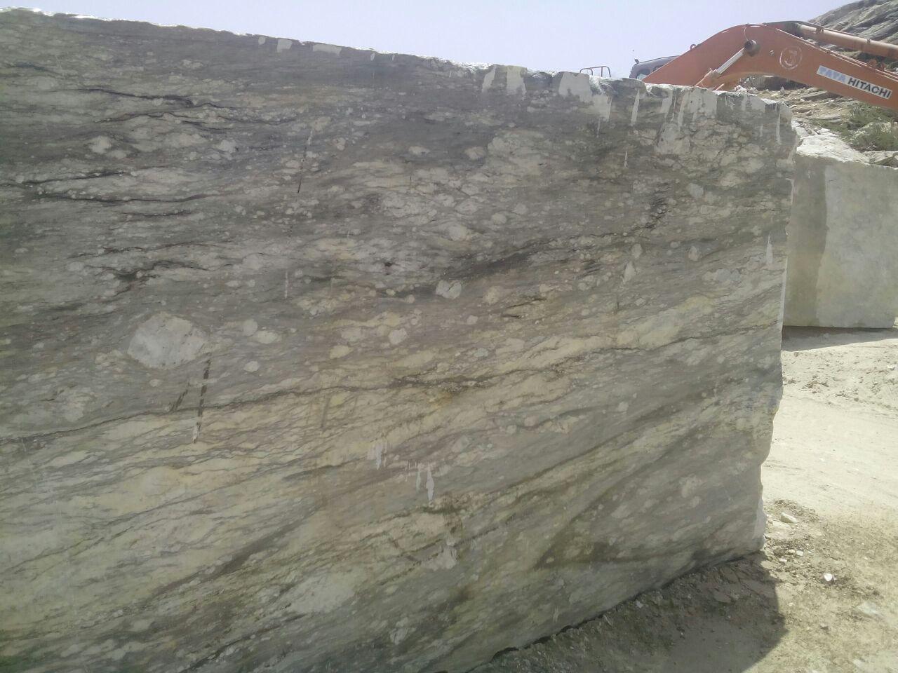 Juprana quartzite block
