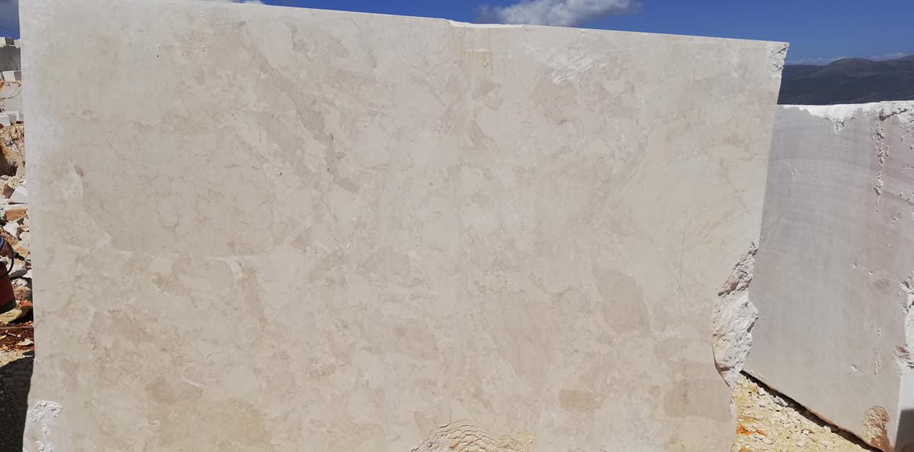 Kaman Beige Marble Blocks Natural Stone Blocks