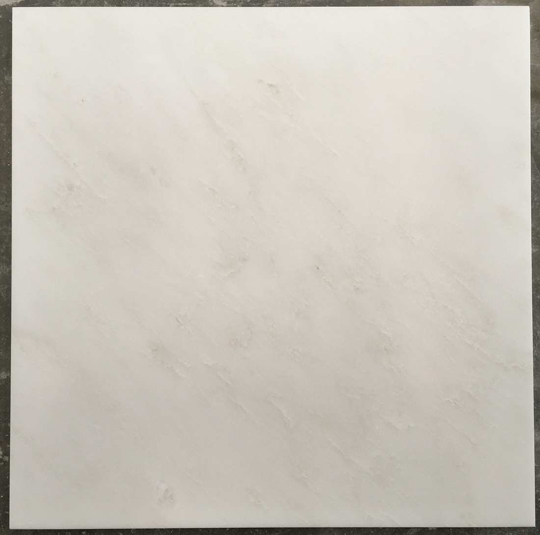 Zhongxi White Marble Tiles From Sichuan China