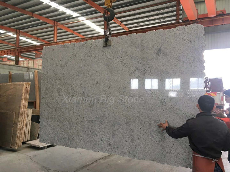 New Kashmir White Granite Slab