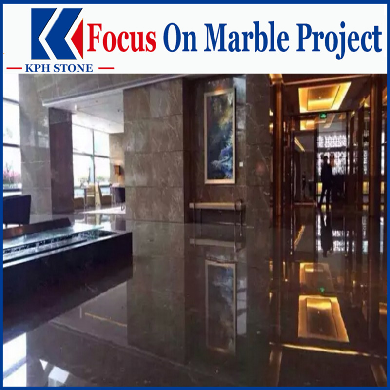 Cazeau Brown Kazoffie Marble Slabs for Regent