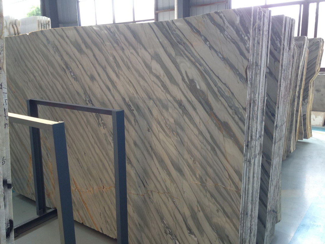 KIngsha Danube Slab Polished Marble Slabs