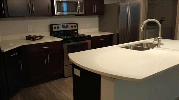 White Maple China Quartz Stone Polished Surface