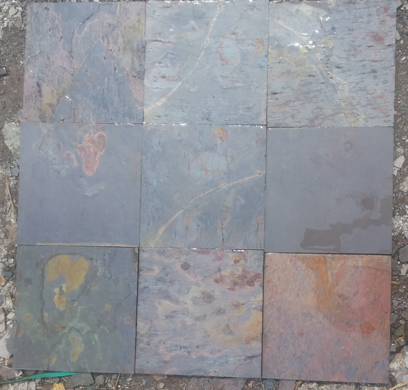 Kund Multicolor Slate Wet Tiles
