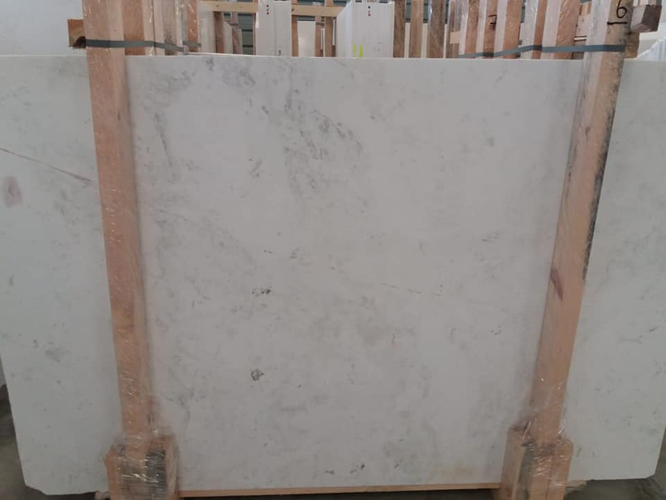 Kyknos Marble Slab White Marble Slabs