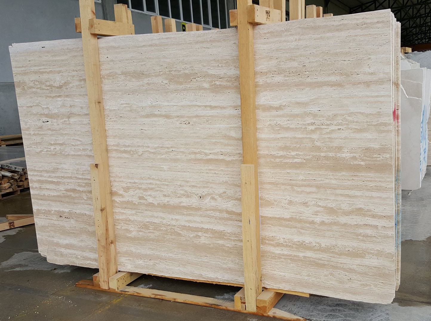 Light Vein Cut Travertine