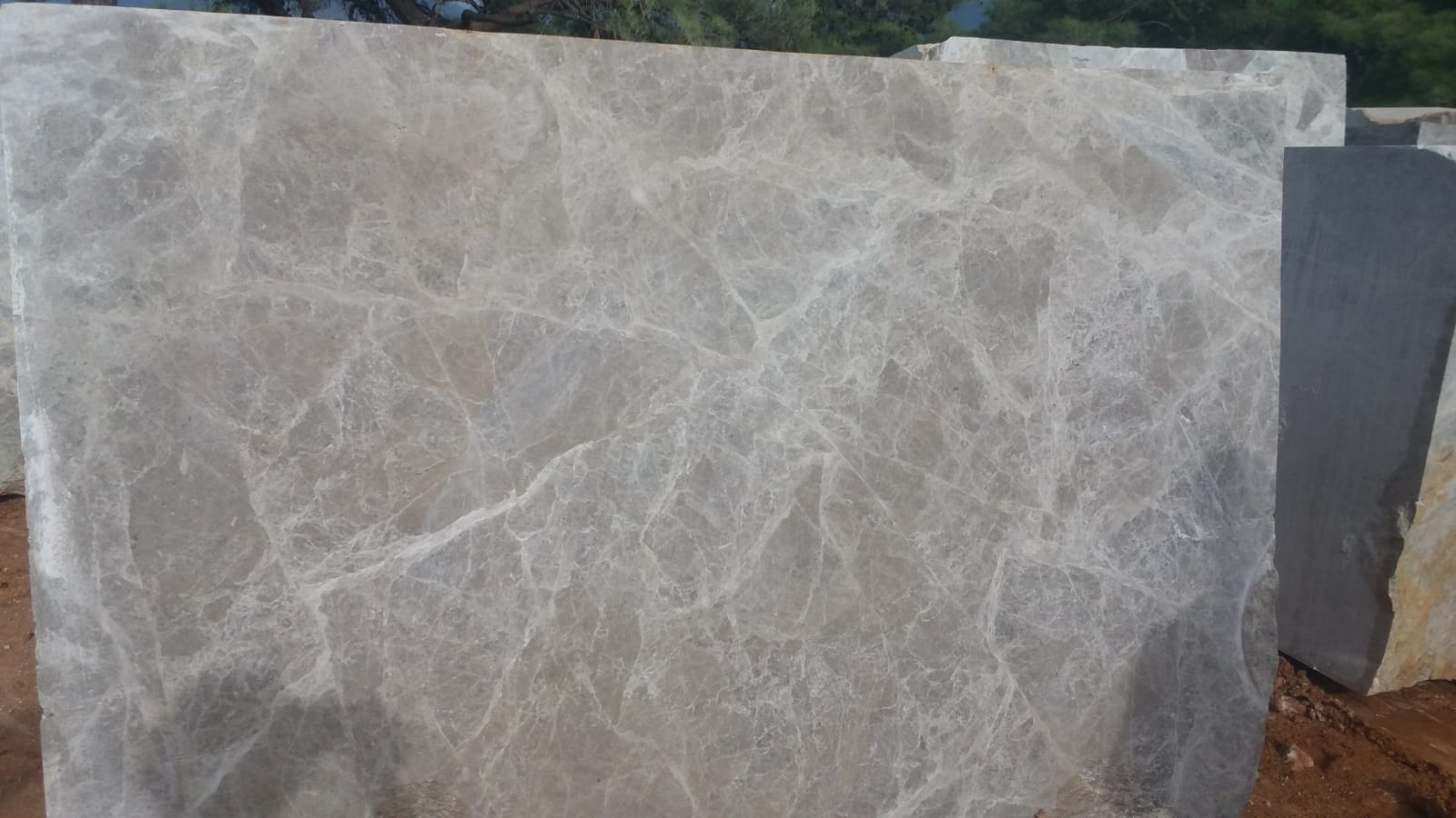Likya Grey Marble Blocks Natural Grey Marble Blocks