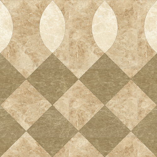 Loyal Stone customized beige travertine threshold