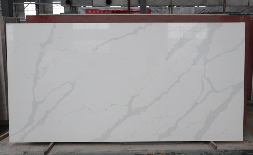 hot design calacatta quartz stone slab