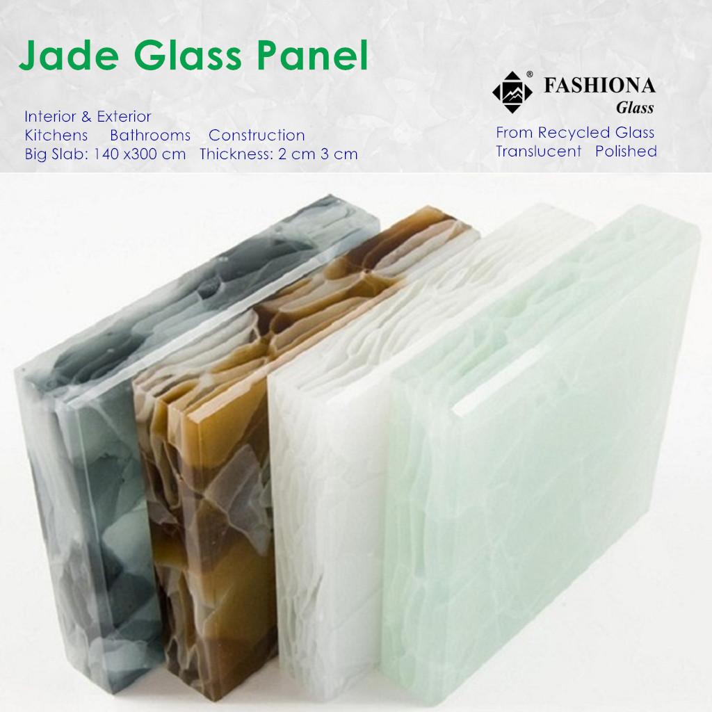 Jade Glass Panel