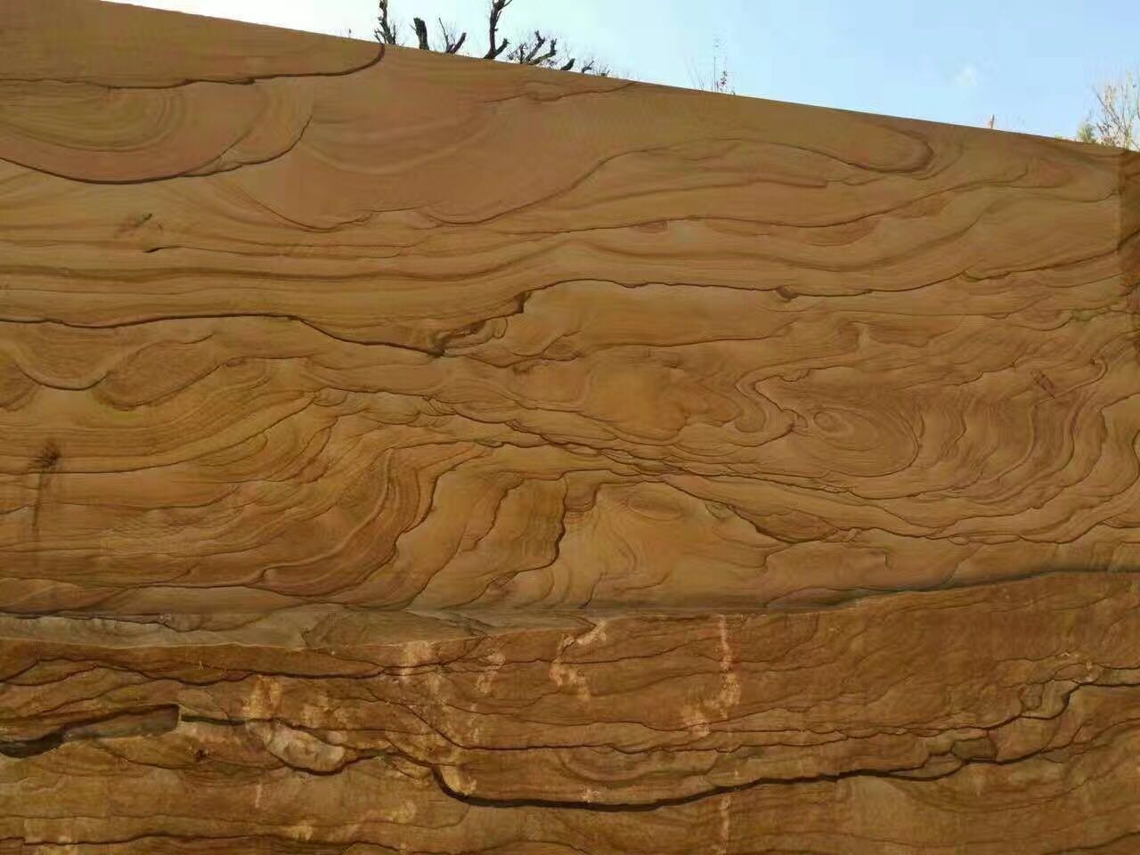 Luxury Yellow Sandstone Slabs