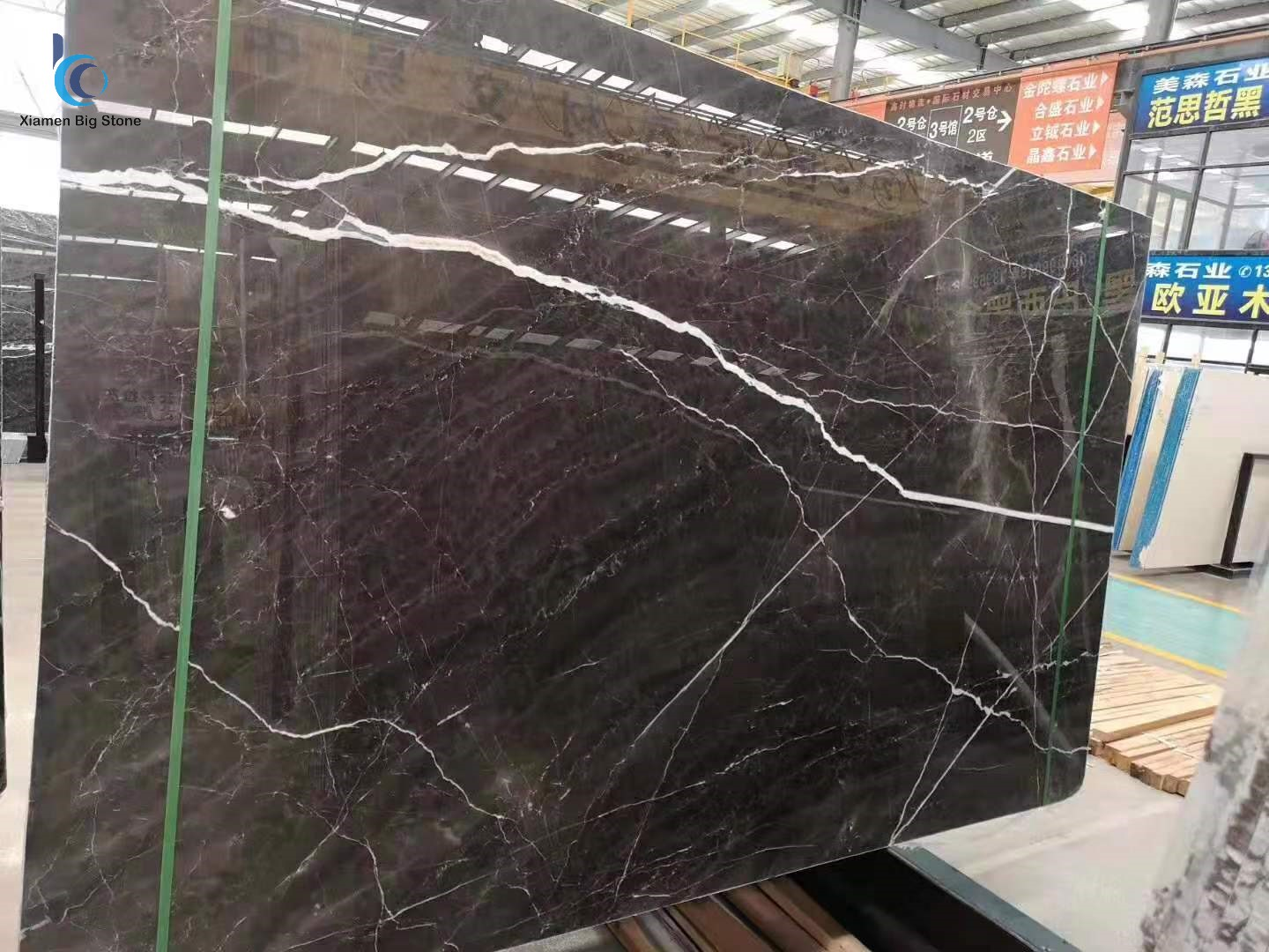 Lauren white gold marble slab