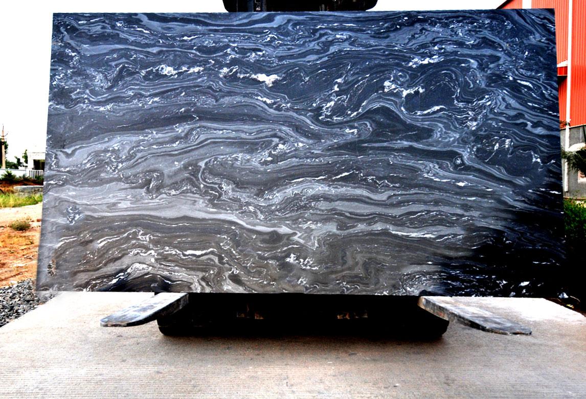 Lava Black- Marble