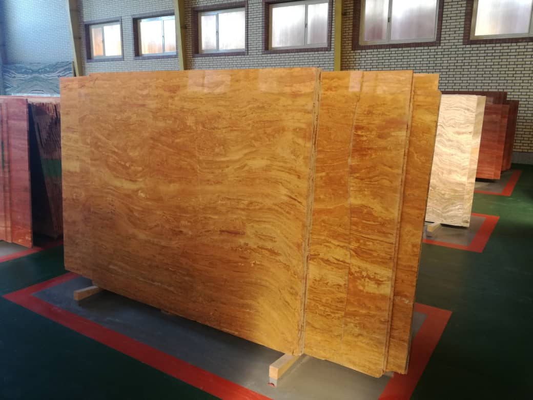Persian yellow Travertine