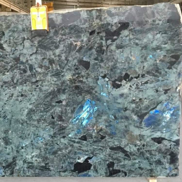 Polished Lemurian Blue Granite