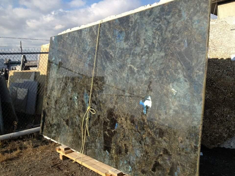 Lemurian Blue Granite slab