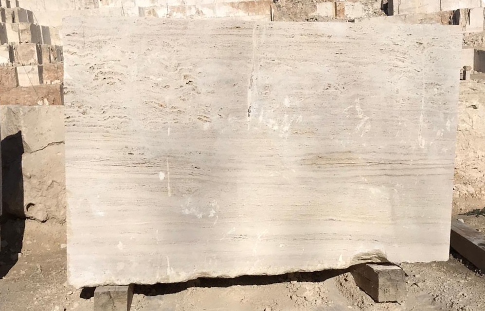 Ivory Travertine Blocks