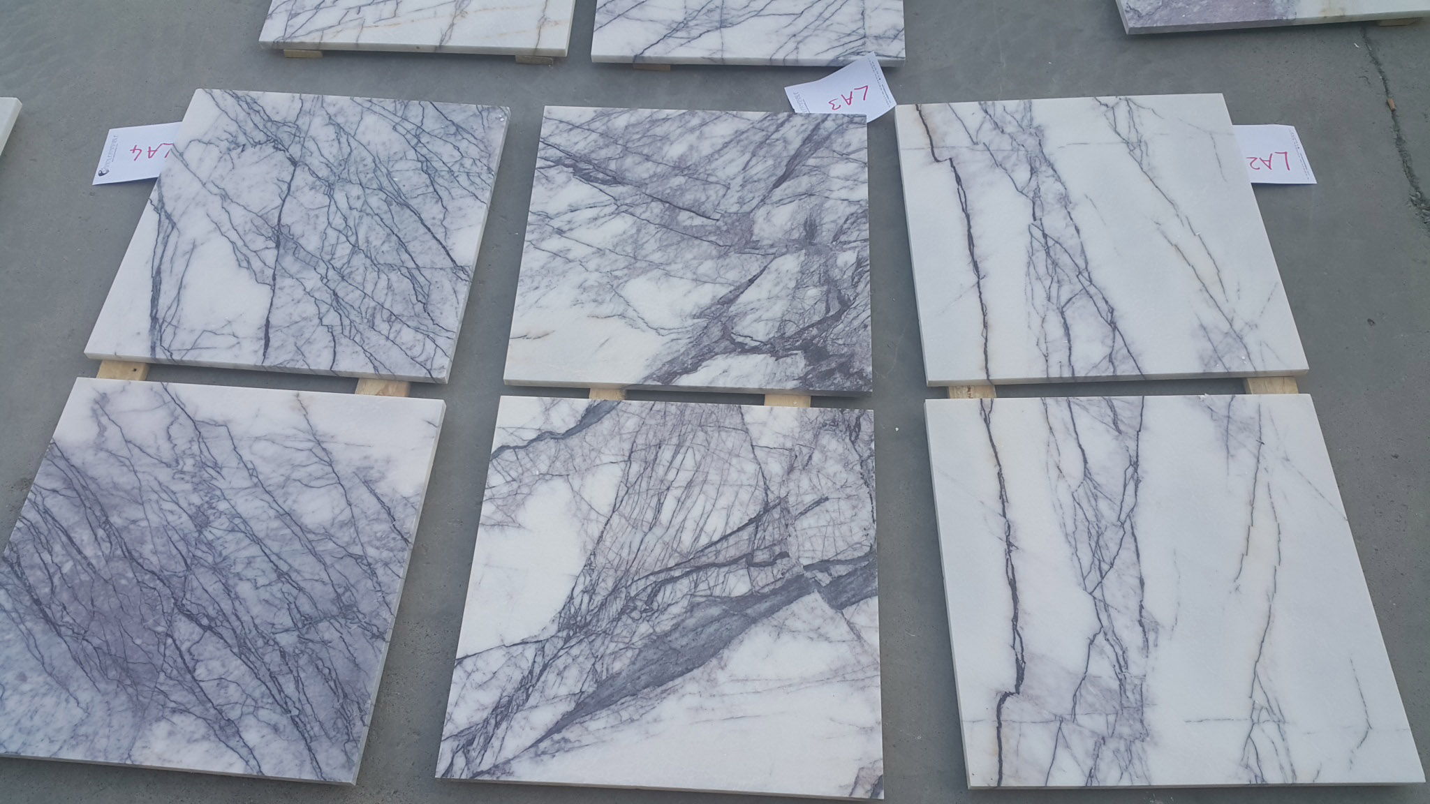Turkish Lilac Marble Tiles