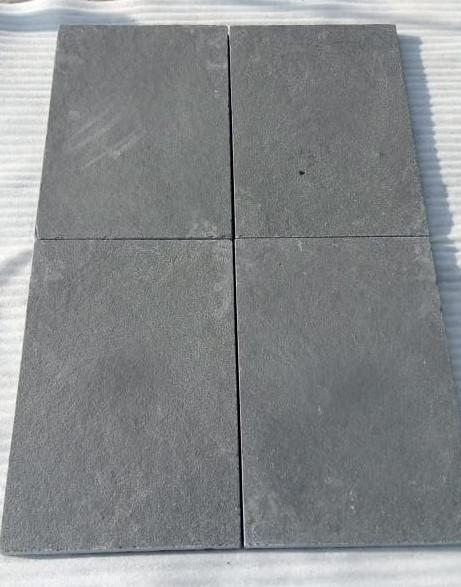 Limestone Black Tumbled - Dry Tiles