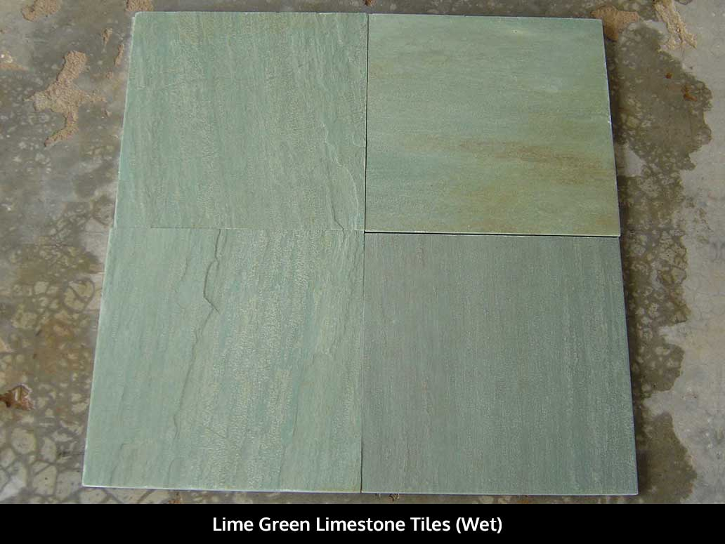 Lime Green Limestone