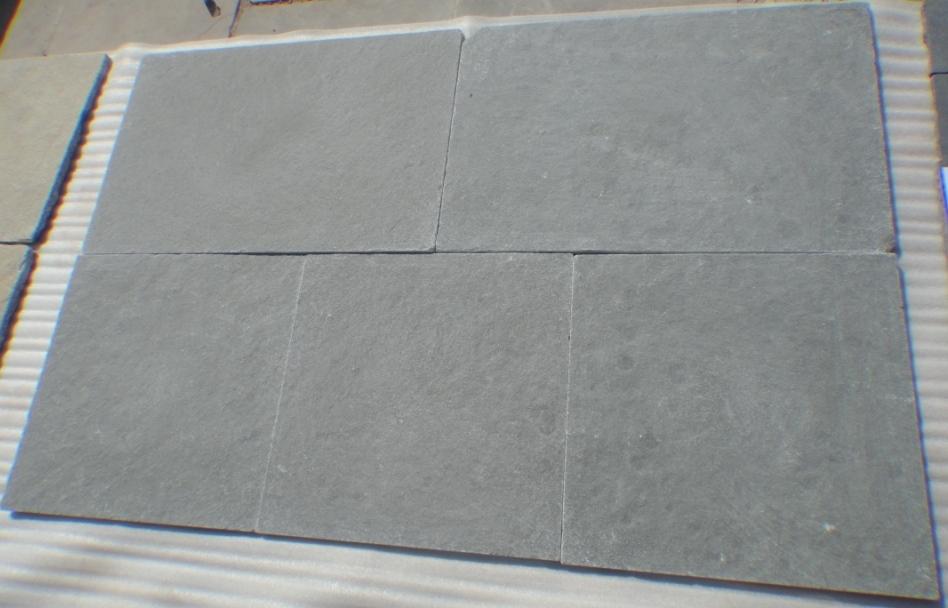 Lime Grey - Natural  Machine cut Tumbled Tiles